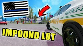 BUILDING POLICE IMPOUND LOT | ASPHALT ROLLER | GROUND MODIFICATION | FARMING SIMULATOR 2017
