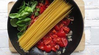 One Pot Pasta Rezept - Abendessen schnell und einfach - Italienisch kochen für Anfänger