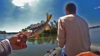 Ловим ОКУНЯ по Простому Рыбалка без ПОНТОВ Ностальгия по Лету рыбалка окунь джиг спиннинг
