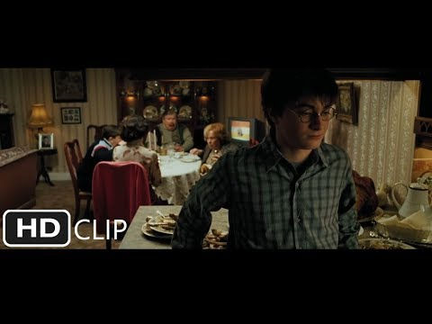 Harry Potter And The Prisoner Of Azkaban - Harry Blows Up Aunt Marge