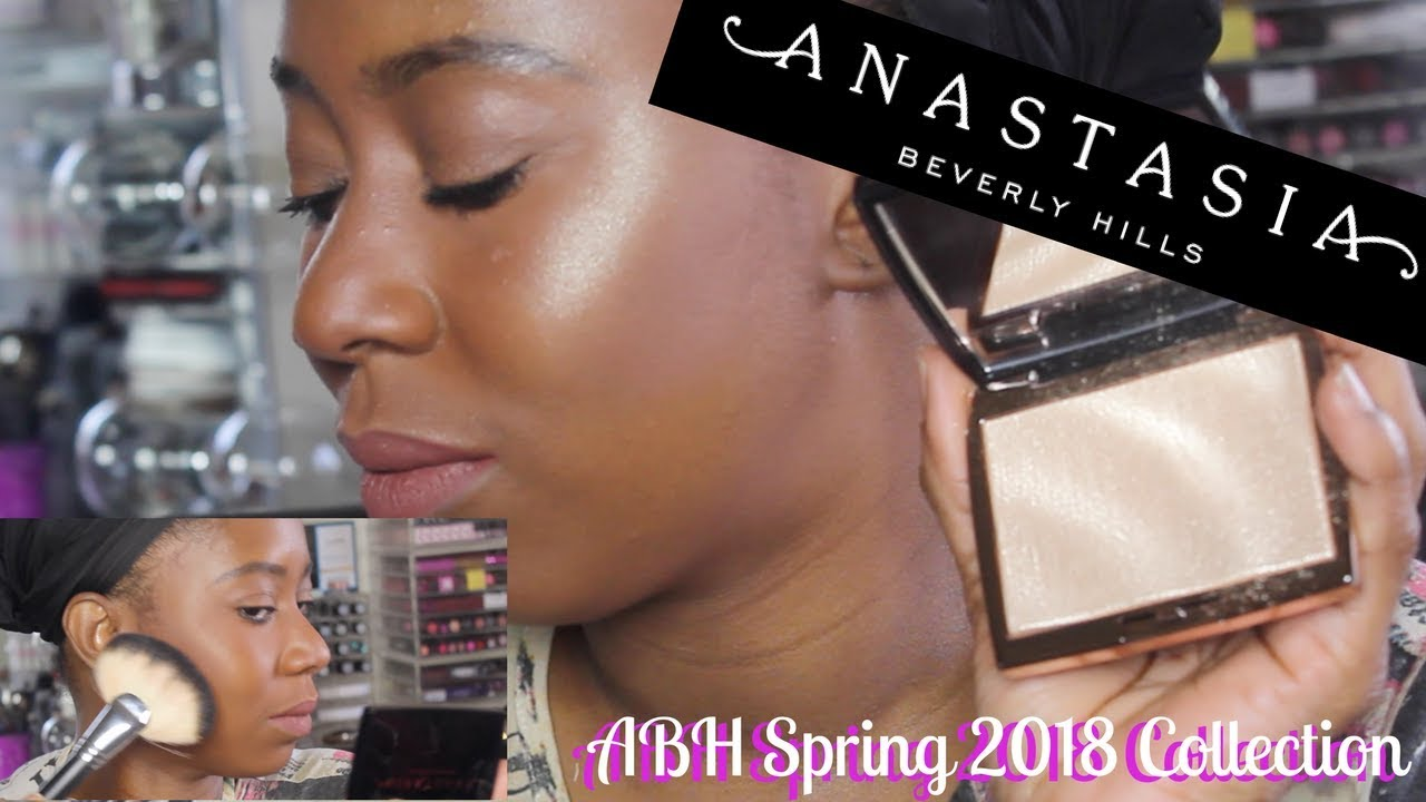 NEW ANASTASIA SPRING 2018 COLLECTION | POWDER BRONZERS & AMREZY ...