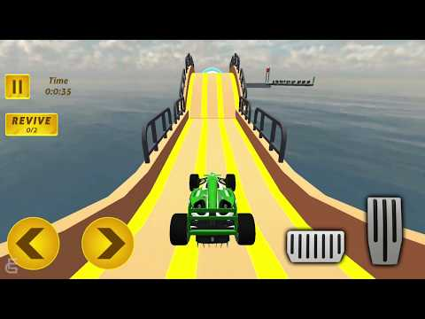 Formula Ramp Car Stunts | Android Gameplay | Friction Games