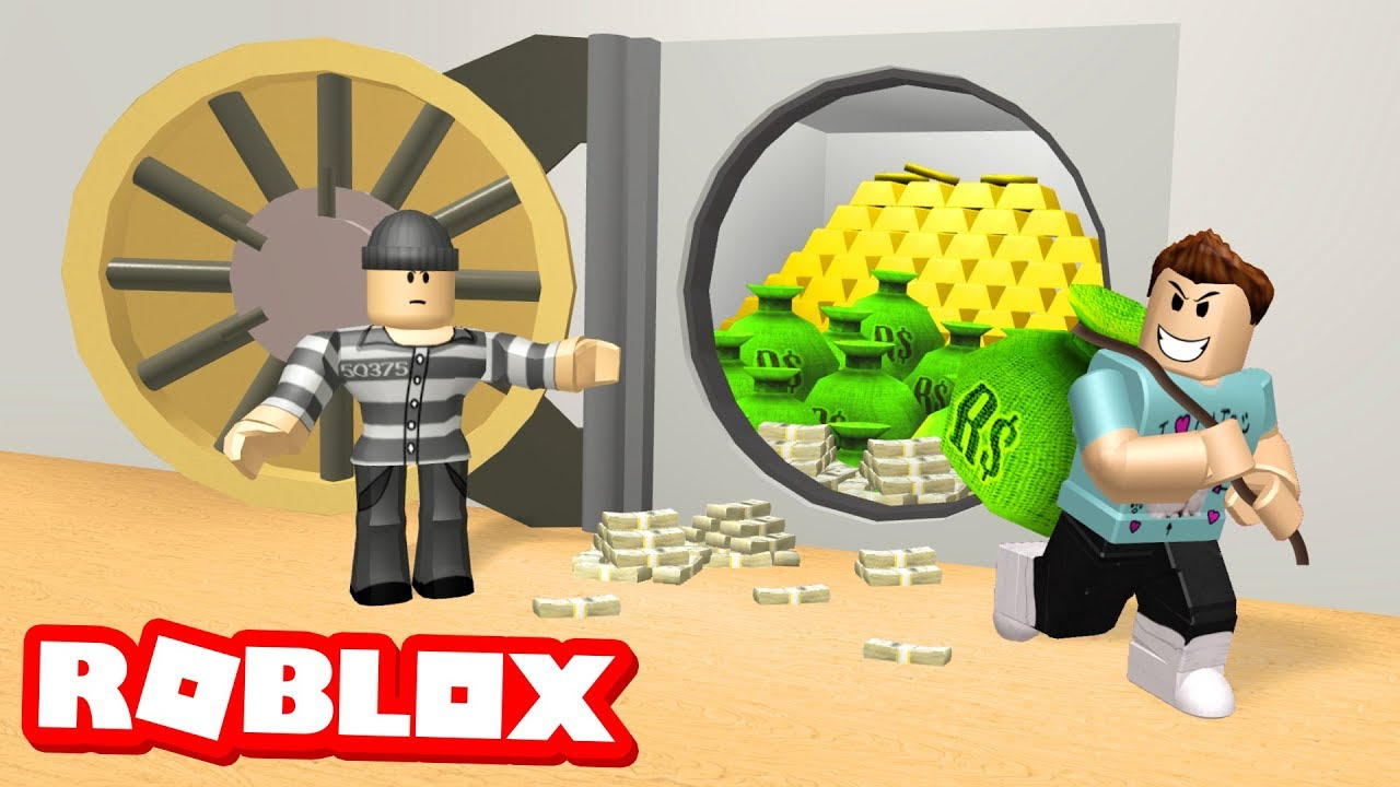 Rob A Bank Obby In Roblox Youtube