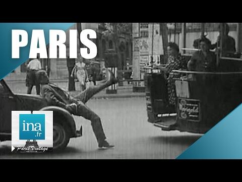 Être piéton à Paris en 1959 | Archive INA