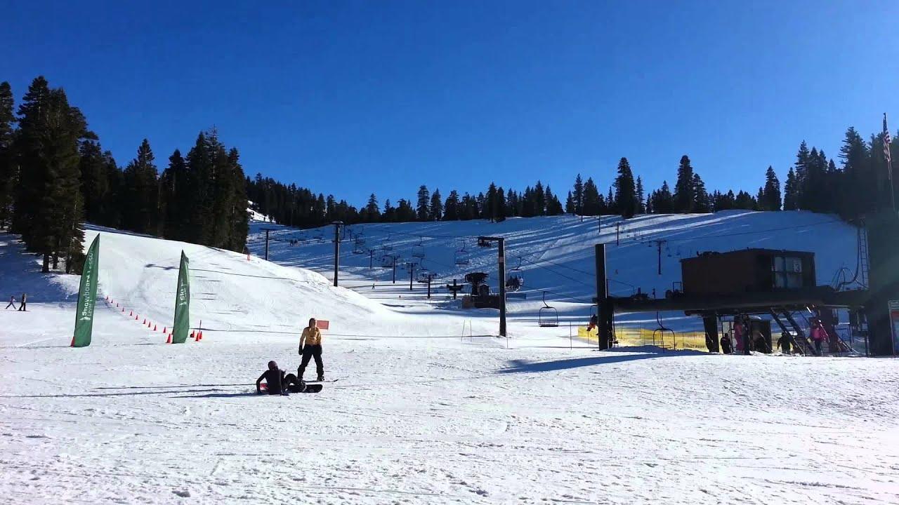 dodge ridge ski resort pinecrest ca. - youtube