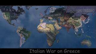 Man In The High Castle Timelapse, Hearts of Iron 4