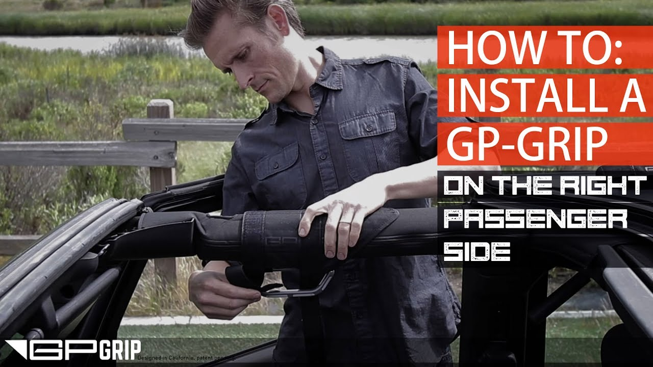 GP-Grip Jeep Wrangler Grab Handle FAQ, support and user manual