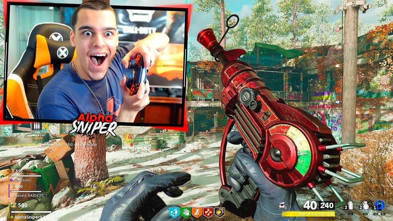 MI PRIMERA PARTIDA A ZOMBIES DE CALL OF DUTY: COLD WAR - AlphaSniper97