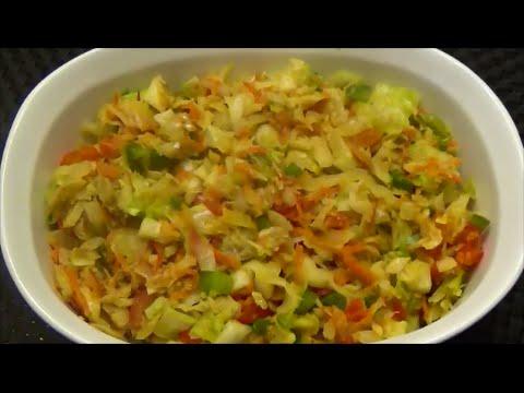 Salt Fish Buljol - Salted Cod- Episode 68