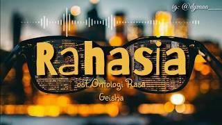 Download Rahasia (ost. Antologi Rasa)- Geisha (video lirik)