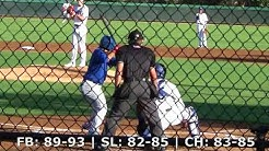 Braydon Fisher (8-31-2018) vs. AZL Cubs 1 (Glendale, AZ)