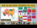 Gambar cover Top 20 Most Powerful Asian Countries 2021  Top 20 Military Powers in Asia 2021  Asia Military Power