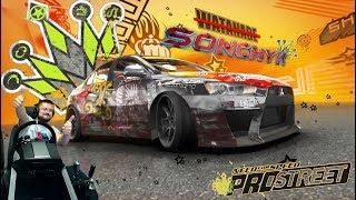 Заруба с финальным Королём Рё Ватанабе Need for Speed ProStreet на руле Fanatec CSL Elite PS4