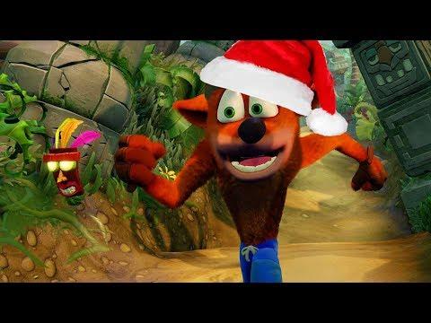 Crash Bandicoot Christmas.Crash Bandicoot Christmas Rage 1 Youtube