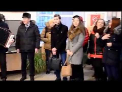 Флешмоб памяти Героев Отечества, Кузнецк, 09.12.2016