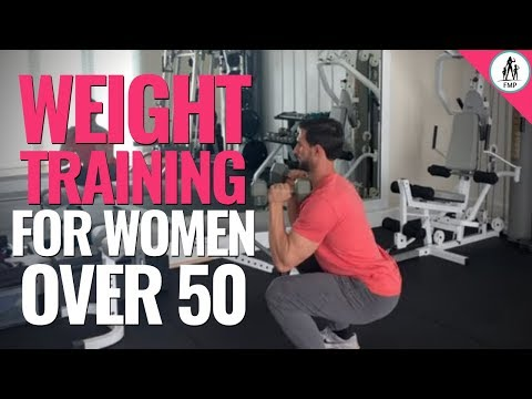 Weight Training – Full Body Workout for Women over 50