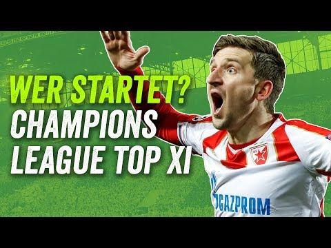 Champions League: Die beste Elf der Gruppenphase! feat. FC Barcelona, Liverpool, Dortmund!