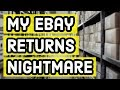 My Bad eBay Story - Returning an Item to Currys PC World