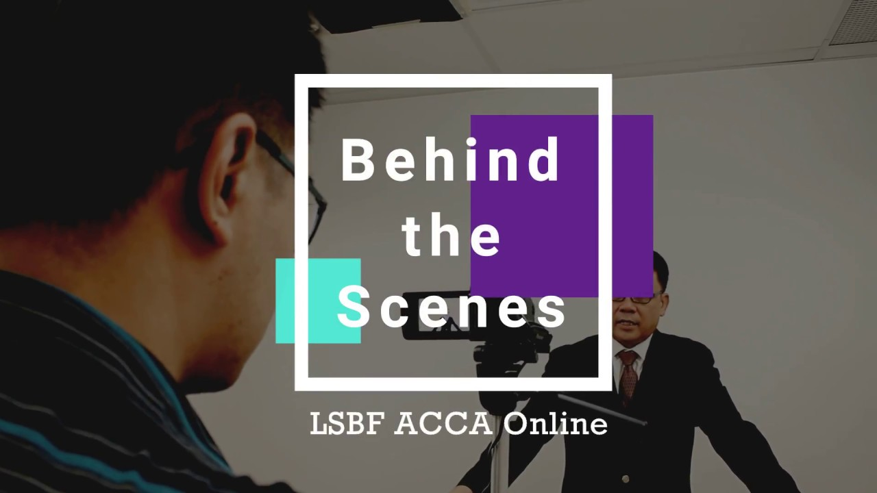 LSBF Singapore | ACCA Online - Behind The Scenes!