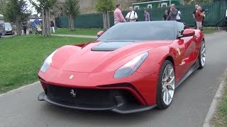 $4.5m Ferrari F12 TRS Revs and Sounds On The Road