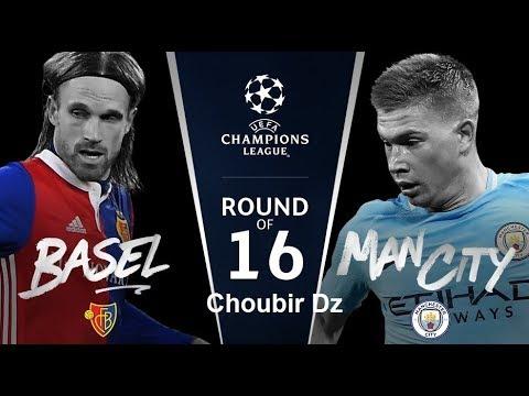FC Basel vs Manchester City, Champions League 13/02/2018