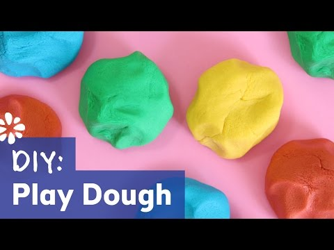 How To Make Play Dough - Easy No Cook Recipe! | Sea Lemon