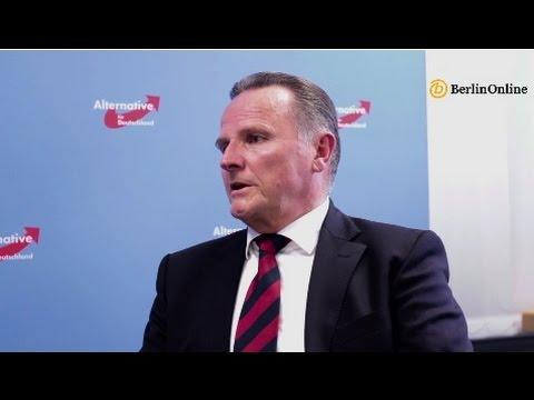 Interview mit Georg Pazderski, AfD Berlin, Wahlen zum Abgeordnetenhaus 2016