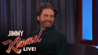 Zach Galifianakis Makes Fun of Jimmy Kimmel's Co-Executive Producer