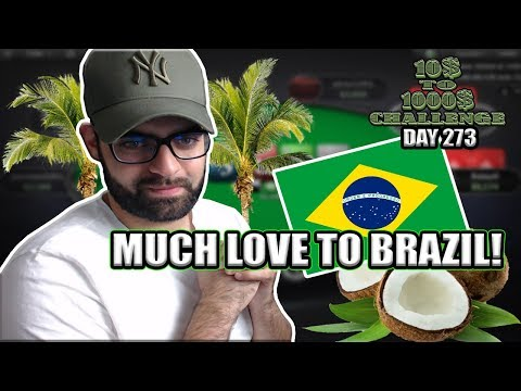 I'M GETTING FAMOUS IN BRAZIL! AM I MOVING THERE?! - 10$ TO 1000$ CHALLENGE! - DAY 273