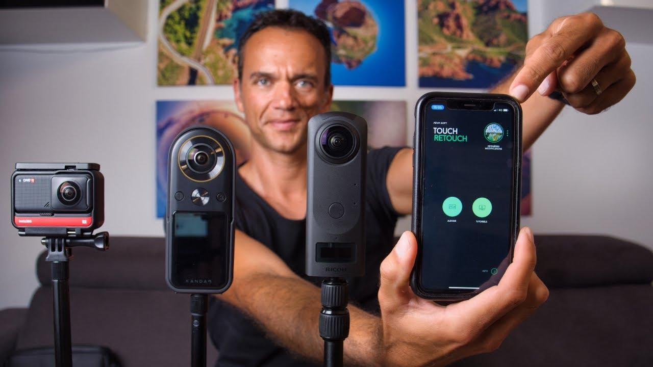 Photos 360 : applications smartphone et meilleurs réglages Instagram..