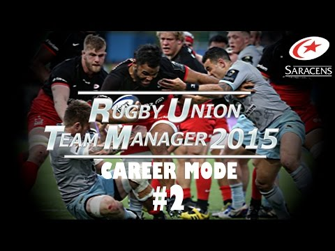 Rugby Union Team Manager 2015 - Career Mode - Part 2 - Tactics and First Signing!!!  