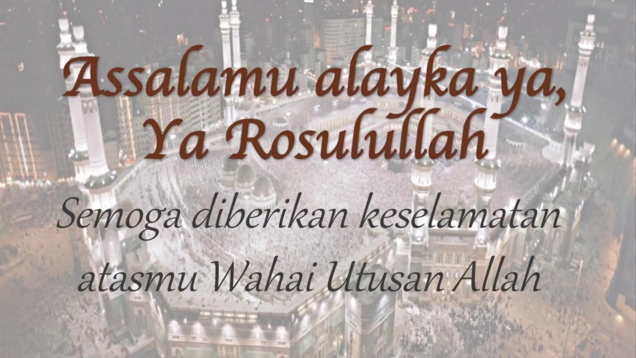 Download Assalamu Alayka Maher Zain - Lirik dan Terjemahan