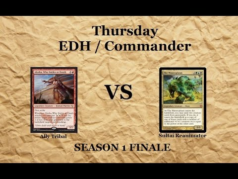 S1 Ep12F Thursday EDH / Commander - Alesha vs The Mimeoplasm (Viewer Requests & Season Finale)