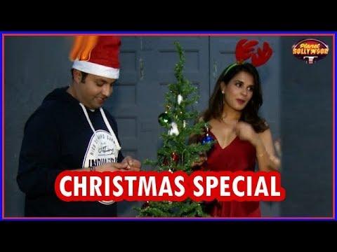 'Fukrey Returns' Stars Richa & Varun Celebrate Christmas & Success Of Their Film | Bollywood News