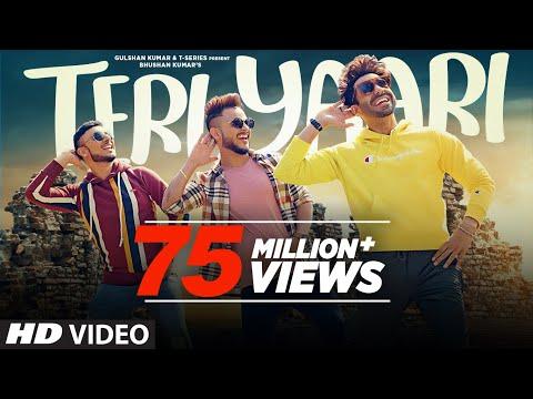 Teri Yaari Song  Millind Gaba, Aparshakti Khurana, King Kaazi  Bhushan Kumar  New Song 2020