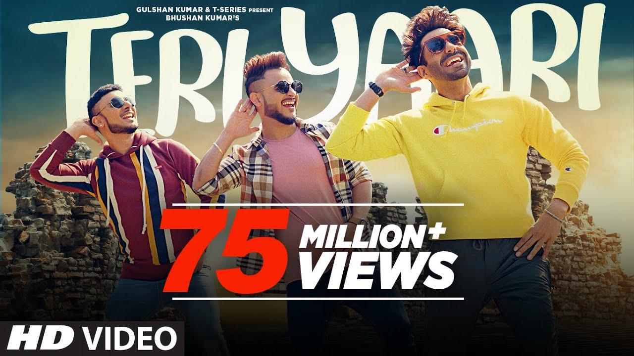 Teri Yaari Song | Millind Gaba, Aparshakti Khurana, King Kaazi | Bhushan Kumar | New Song 2020