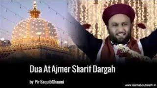 Hazrat Allama Pir Saqib Shaami At Ajmer Sharif 2016