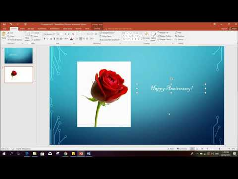 How to convert powerpoint slide into  jpeg photo