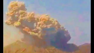 (2021.02.08) 일본 사쿠라지마 화산폭발