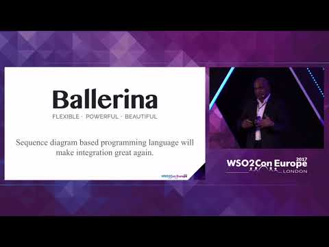 Keynote - Ballerina Plans and Futures, WSO2Con EU 2017