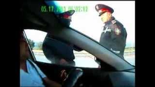 Инспектора сдулись. ГАИ ДПС Жамбылская область.