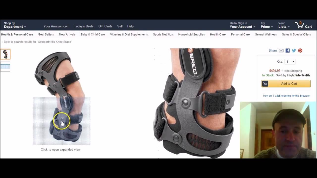 71d541eee5 Best Knee Brace For Osteoarthritis - YouTube