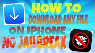Gambar cover How to download any file, song & video in ios 9,10&11
