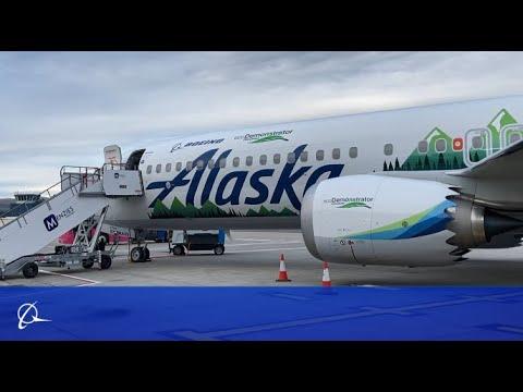 2021 Boeing ecoDemonstrator Tour