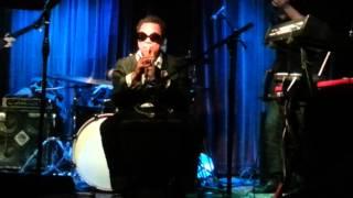 Trumpet, Djembe, The Mint LA, RocknRoll, Jazz, keyboards, drums, bass, guitar, tamboreen