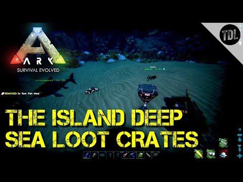 The Island Deep Sea Loot Crates | VsPVP The Island Ep10 | Ark Survival  Evolved