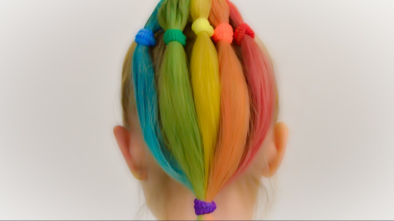 How To DYE Kids Hair With HAIR CHALK Quick And Safe Coloring For