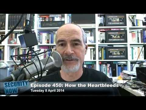 The HeartBleed Bug: Security Now 450