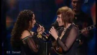 Eurovision 2009 - Israel - Noa & Mira Awad - There Must Be Another Way