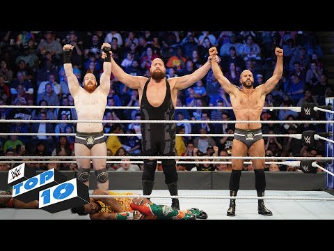 Top 10 SmackDown LIVE moments: WWE Top 10, October 23, 2018